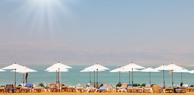 Israeli popular Red Sea beach destination on Israel trips and Jewish heritage tours